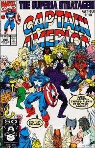 Marvel CAPTAIN AMERICA (1968 Series) #390 VF/NM