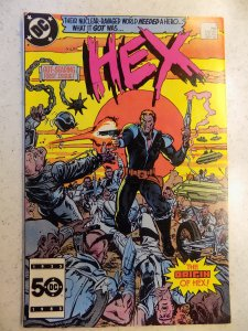HEX # 1 DC FUTURE FANTASY WESTERN ACTION ADVENTURE