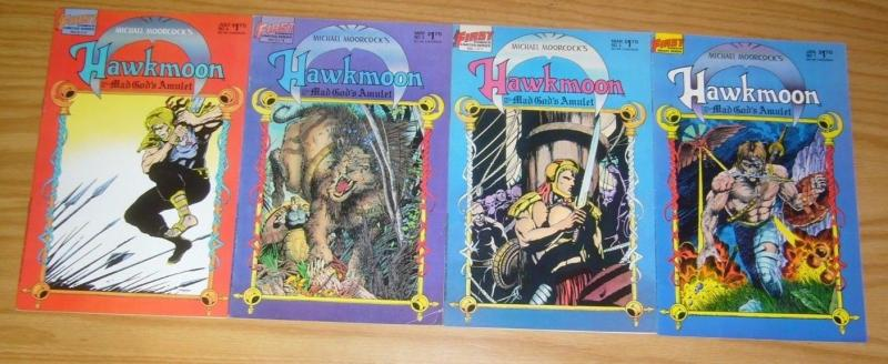 Michael Moorcock's Hawkmoon: Mad God's Amulet #1-4 FN/VF complete series 2 3 set