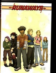 Runaways Vol. # 1 Marvel Comics HARDCOVER Graphic Novel Comic Book 1st Print MF4
