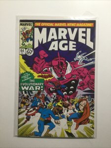Marvel Age 64 Near Mint Nm Marvel