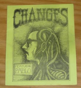 Changes #1 VG jeff jordan  rare underground comix listed in kennedy's guide 1972