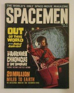 Spacemen #8 June 1964 Ray Bradbury VF