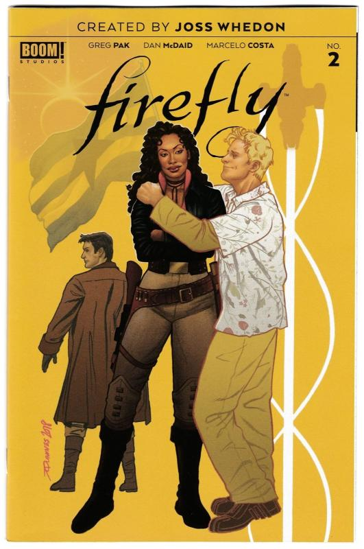 Firefly #2 Preorder Variant (Boom, 2018) VF/NM