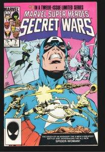 MARVEL SECRET WARS #7 9.4-9.6 1st full appearance  Spider-Woman, Julia Carpenter
