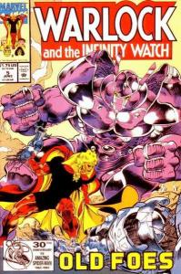 Warlock and the Infinity Watch #5, NM (Stock photo)