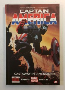 CAPTAIN AMERICA CASTAWAY IN DIMENSION Z BOOK 1 HARD COVER GRAPHIC NOVEL NM