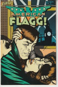 American Flagg # 24  Howard Chaykin's Plexis Ranger !