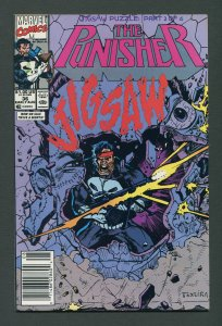 Punisher #36 / 9.4 NM  Jigsaw  Part One Newsstand August 1990