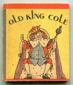 Old King Cole Wee Little Book 1934- VG