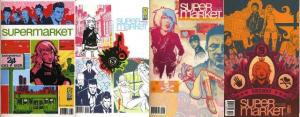 SUPERMARKET (2006 IDW) 1-4  the COMPLETE series!
