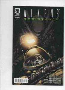 ALIENS Resistance #2, VF/NM, Brian Wood, 2019, more Horror in store