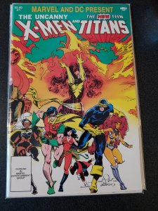 Uncanny X-Men and The New Teen Titans # 1 (Marvel/DC, 1982) One Shot Crossover