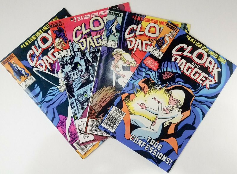 ? Cloak and Dagger 1983 Limited Mini-Series Compete Run 1-4 Price Variant NM
