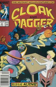 Mutant Misadventures of Cloak & Dagger, The #2 (Newsstand) FN; Marvel | save on