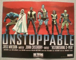 UNSTOPPABLE Promo poster, X-MEN, 13x10, 2006, Unused, more Wolverine in store