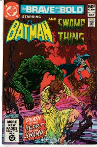 Brave and The Bold(vol. 1) #  176 Batman and Swamp Thing