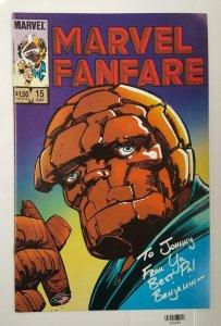 MARVEL FANFARE #15, VF/NM, Thing, Dare Devil, 1982 1984, more Marvel in store