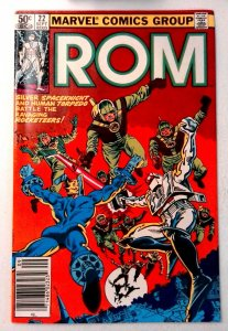 Rom #22 Marvel 1981 VF+ Bronze Age Comic Book 1st Print