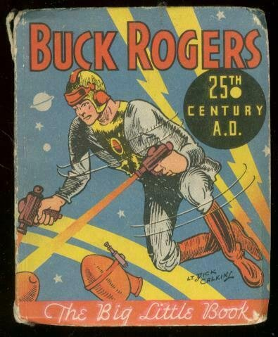 BUCK ROGERS-BIG LITTLE BOOK-25TH CENTURY AD-1933 PULP VG-