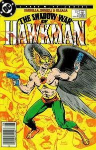 Shadow War of Hawkman, The #2 (Newsstand) VF/NM; DC   save on shipping - details