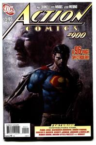 Action Comics #900-comic book HTF  NM-High Grade-Superman