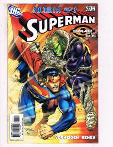 Superman # 219 VF/NM DC Comic Books Wonder Woman Justice League Metropolis! SW13
