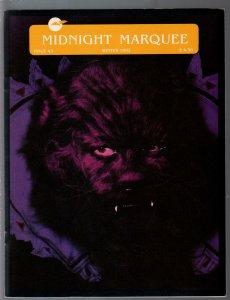 Midnight Marquee #423 1992--horror fanzine-Asian horror films on video-VF