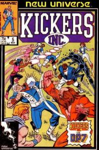 Kickers, Inc. #5 FN; Marvel | save on shipping - details inside