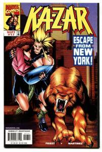 Ka-Zar #17-1998 comic book-First Everett Ross-Civil War Movie-Marvel NM
