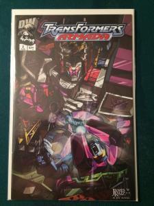 Transformers Armada #6 Dreamwave Productions NM-M