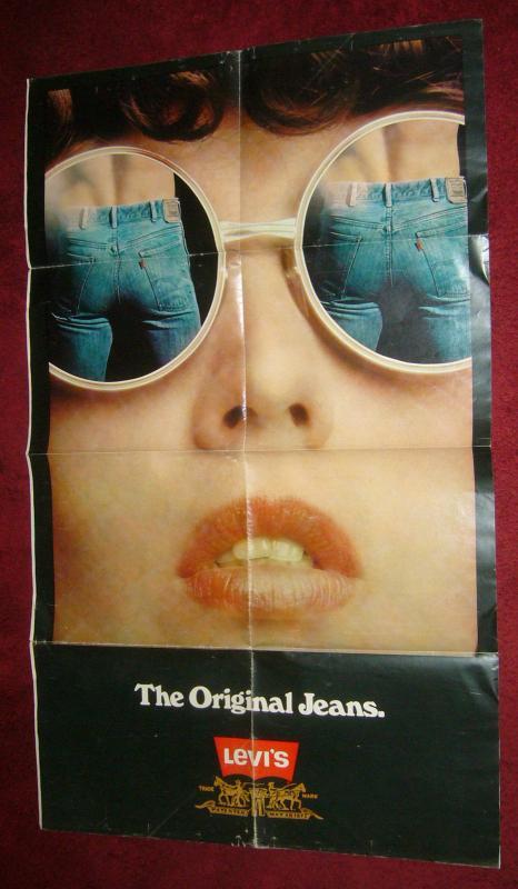 Levi's the Original Jeans vintage poster - 35 x 21