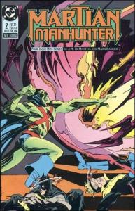 DC MARTIAN MANHUNTER (1988 Series) #2 NM