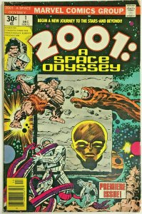 2001 A SPACE ODYSSEY#1 VG/FN 1976 JACK KIRBY MARVEL BRONZE AGE COMICS