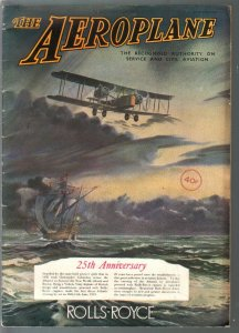 Aeroplane 6/16/1944-WWII-RAF-biplane cover-aviation pix & info-British pub-FN