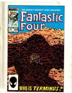 12 Fantastic Four Comics #269 270 271 272 273 275 279 280 282 283 284 288 HJ8