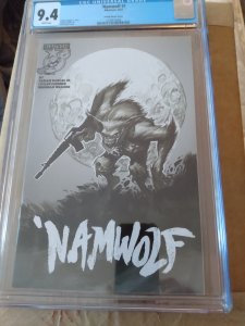 Namwolf #1 9.4 Cgc Powell Sketch Cover