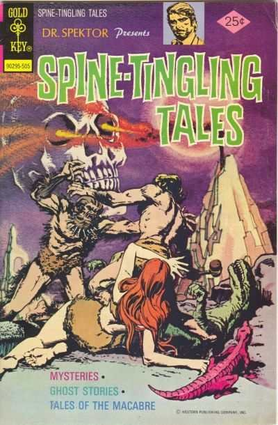 Spine-Tingling Tales #1, VF- (Stock photo)