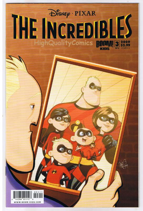 The INCREDIBLES #3, Dash, Mirage, Movie, Syn, 2009, NM (b) Super family