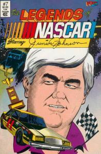 Legends of NASCAR, The #7 VF/NM; Vortex   save on shipping - details inside