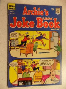 ARCHIE'S JOKE BOOK # 127 ARCHIE JUGHEAD VERONICA BETTY RIVERDALE CARTOON