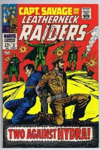 Captain Savage and Leatherneck Raiders #3 ORIGINAL Vintage 1968 Marvel Comics