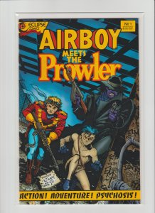 Airboy Meets The Prowler #1 VF/NM (1987, Eclipse Comics) Tim Truman, Obscure!