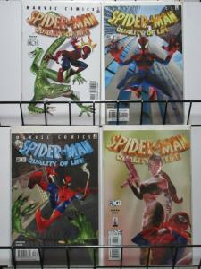 SPIDERMAN QUALITY OF LIFE (2002) 1-4  complete series!