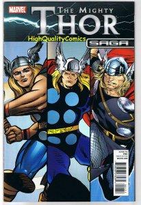 THOR SAGA, FCBD, Promo, Jack Kirby, Simonson, 2011, NM