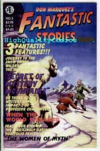 FANTASTIC STORIES #3, NM, Don Marquez, 2002, Women of Myth, more indies in store