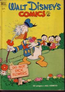 WALT DISNEY'S COMICS & STORIES #132 DONALD DUCK BARKS VG