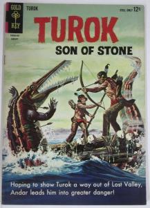TUROK SON OF STONE (Gold Key, 1/1964) 37 FINE COMICS BOOK