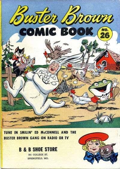 Buster Brown Comics #26, Fair- (Stock photo)