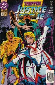 DC Comics! Justice League International! Issue 56!